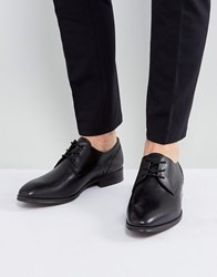 Aldo Lauriano Derby Leather Shoes In Black
