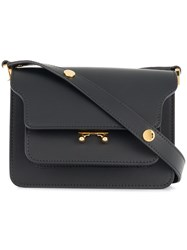 Marni Mini Trunk Shoulder Bag Black