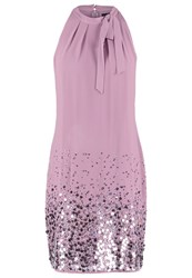 S.Oliver Cocktail Dress Party Dress Dusty Orchid Taupe