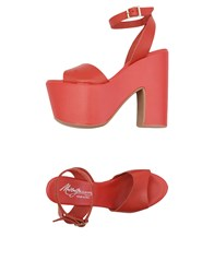 Mng Sandals Red