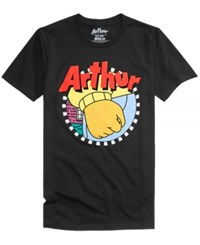 New World Arthur T Shirt Black