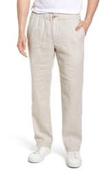 Tommy Bahama Big And Tall Beach Linen Blend Pants Continental