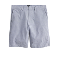 J.Crew 9' Club Short In Micro Houndstooth Cobalt Micro Houndstooth