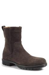 Aquatalia By Marvin K Men's 'Logan' Zip Boot Grey Suede