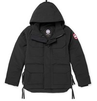 Canada Goose Maitland Shell Hooded Down Parka Black
