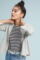 Amo Flounced Jacket Grey