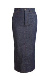 Victoria Beckham Denim Midi Skirt
