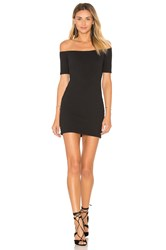 Clayton Bubble Knit Bev Dress Black