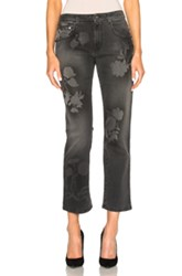 Christopher Kane Spray Paint Jeans In Gray