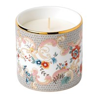 Wedgwood Wonderlust Scented Candle Rococo Flowers White Peony And Orange Blossom