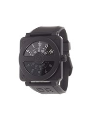 Bell And Ross 'Aviation Compass' Analog Watch Steel