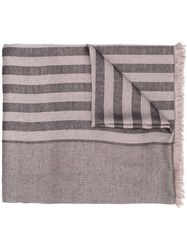 Haider Ackermann Striped Silk Scarf 60
