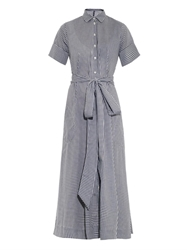 Lisa Marie Fernandez Gingham Shirt Dress