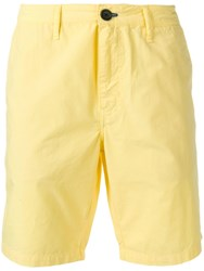 Paul Smith Ps Chino Shorts Yellow