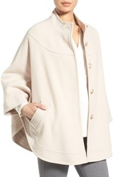 Charles Gray London Women's Wool Blend Cape Coat Oyster