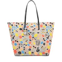 Karl Lagerfeld Beach All Over Pvc Shopper
