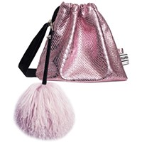 Florence Bridge Lyla Party Pouch In Pink Pink Purple