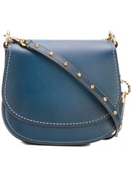 Coach Small Saddle Bag Blue