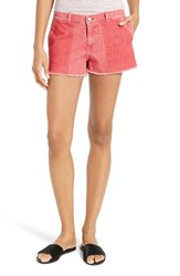 Frame Women's Le Cutoff Color Shadow Pocket Denim Shorts
