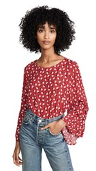 Bb Dakota Jack By Drive Me Daisy Top Apple Red