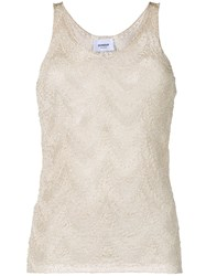Dondup Knitted Top Neutrals