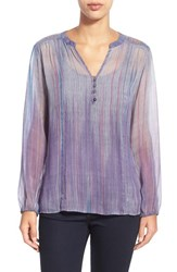 Women's Casual Studio Blouse Antique Stripe