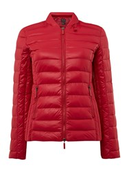 Armani Exchange Light Weight Jacket In Royal Red Red