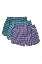 Lacoste Woven Boxer Pack Of 3 Multi