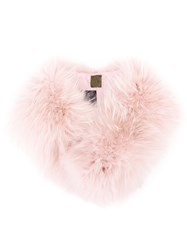 Mr And Mrs Italy Fur Collar Pink Purple