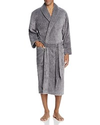 Daniel Buchler Heathered Terry Robe Black