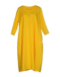 Labo.Art Dresses Knee Length Dresses Women Yellow
