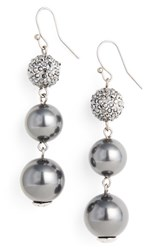 St. John Women's Collection Swarovski Imitation Pearl Drop Earrings