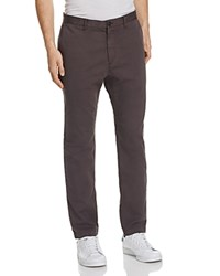Theory Brewer Soft Sateen Slim Fit Pants Light Night