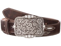 Ariat Cream Underlay Design Belt Brown Women's Belts