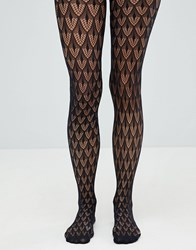 Jonathan Aston Crochet Net Tight Black