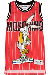 Moschino Bugs Bunny Printed Jersey Mini Dress
