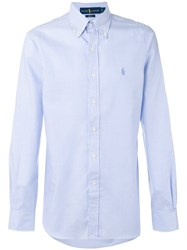 Polo Ralph Lauren Fitted Striped Shirt White