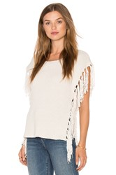 Cupcakes And Cashmere Napa Poncho Ivory