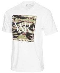 Young And Reckless Tiger Trade Camouflage Logo Print T Shirt White