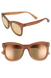 Seafolly Manly 52Mm Cat Eye Sunglasses Syrup