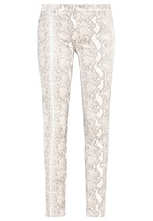 7 For All Mankind Trousers White