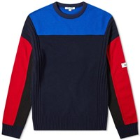 Kenzo Felted Colour Block Knit Multi
