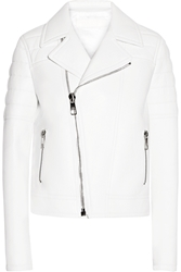 Neil Barrett Textured Leather Biker Jacket