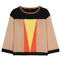 Etro Cashmere And Wool Blend Sweater Multicoloured