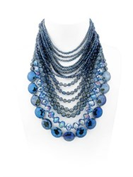 Nightmarket Crystals Multi Strand Necklace
