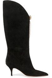 Magda Butrym Czech Suede Boots Black