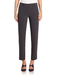 Armani Collezioni Stretch Wool Trouser Pants Storm Grey