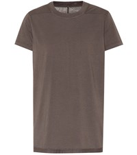 Rick Owens Drkshdw Cotton T Shirt Brown
