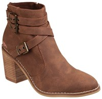 Rocket Dog Deon Zip Up Boots Tan