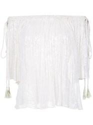 Cecilia Prado Knit Off The Shoulder Blouse Unavailable